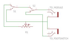 HiHat Controller Schematic